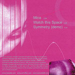 Mica CD Back Cover