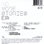 No More Stories EP CD Back Cover