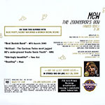 The Zookeeper's Boy (Radio Edit) Promo CD Back Cover