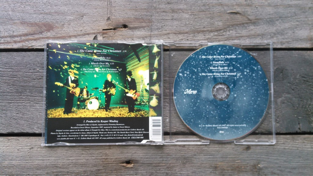 very first ever Exlibris Musik A/S 1997 EXLCDM 008 2_small_She_came_home_for_christmas_open